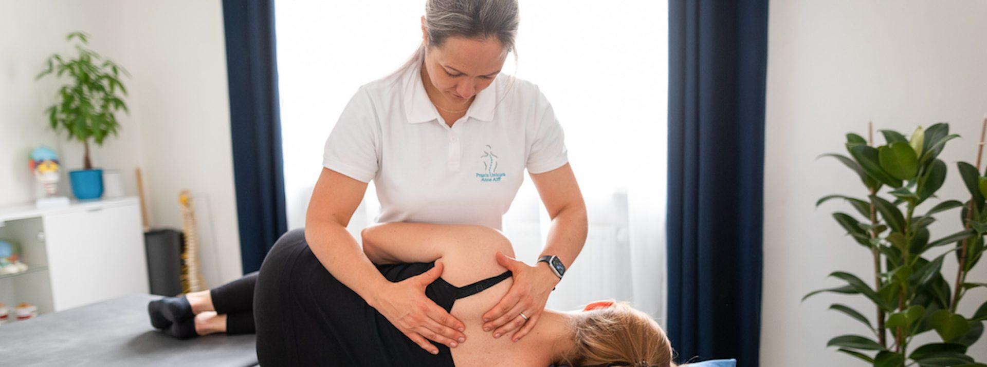 Osteopathische Therapie